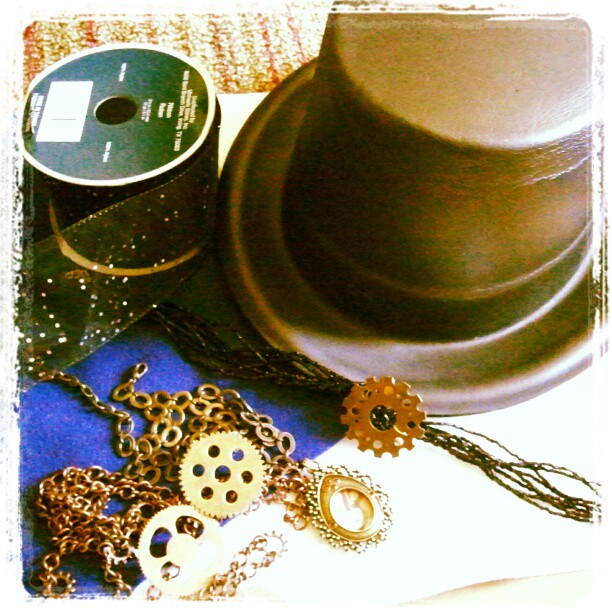 tardis steampunk hat project