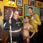 OakMonster.com - Hockey Lock Out, Slave Leia, Captain Kirk