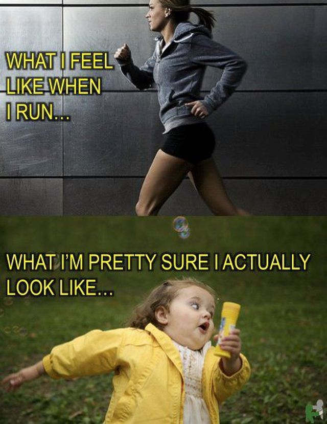 OakMonster.com - What I feel like when I run