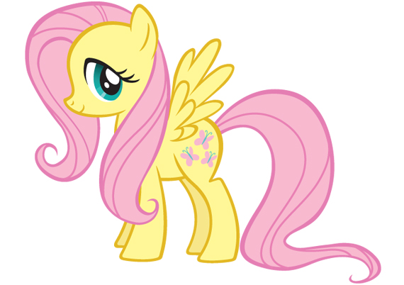 timid pony from the cartoon My Little Pony: Friendship is Magic . My ...