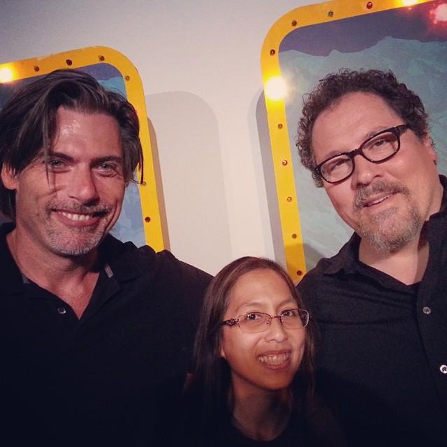 OakMonster.com - Geoff Boucher & Jon Favreau